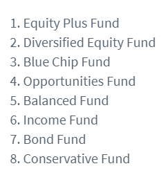 8 different investment options to invest