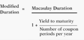 maculary duration formulae for debt funds