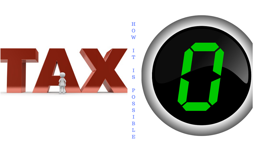 Pay Zero Tax – On your white money-Here is the way…