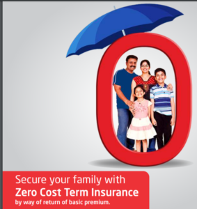 Exide Life Term with return of premiums Plan